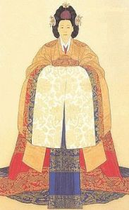 Portrait_of_Empress_Myeong_Seong